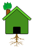 Green Tree House Image