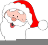 Father Christmas Beard Clipart Image