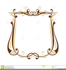 Free Fancy Border Clipart Image