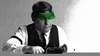 Green Visor Accountant Image