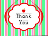 Thank You Free Clipart Cards Image