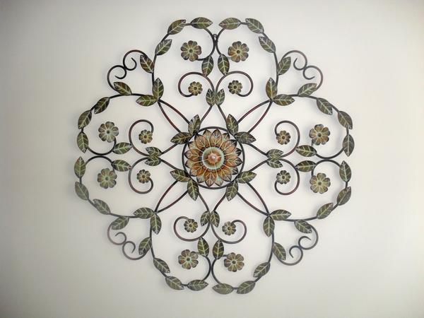Decorative Floral Metal Craft Free Images At Clker Com Vector