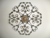 Decorative Floral Metal Craft Image