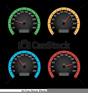Clipart Car Speedometer | Free Images at Clker com - vector