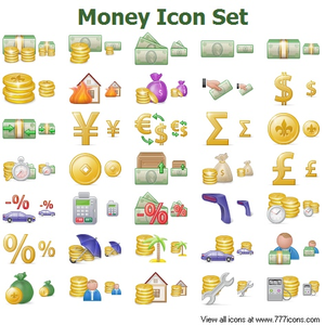 Money Icon Set Image