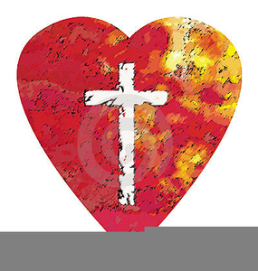 Free Christian Valentines Day Clipart Image