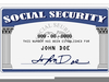 Free Social Security Card Clipart Image