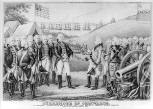 Surrender Of Cornwallis Image