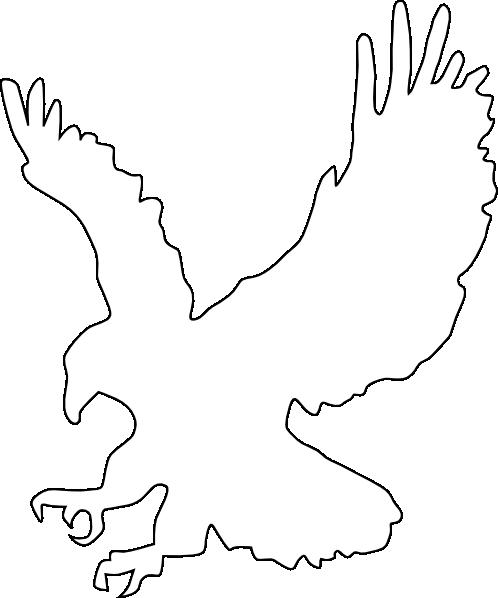 White Eagle Clip Art at Clker.com - vector clip art online ...