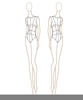 Fashion Templates Sketches Image