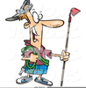 Man And Hoe Clipart Image