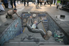 Realistic Chalk Drawings Image