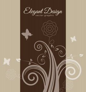 Elegant Brown Design Image