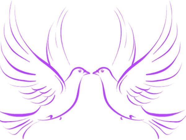 wedding doves free images at clker com vector clip art online rh clker com Wedding Bells and Doves Love Dove Wedding Clip Art