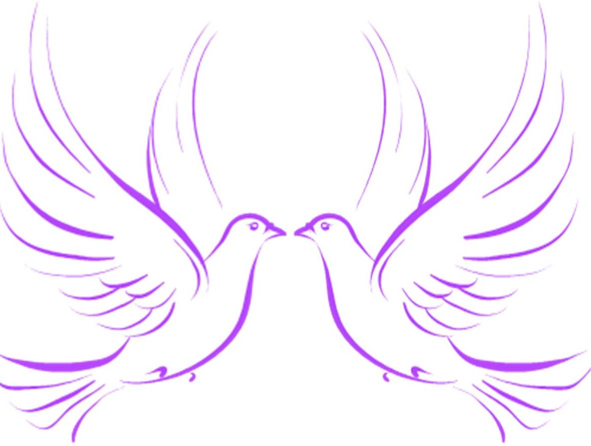 Wedding Doves Clipart
