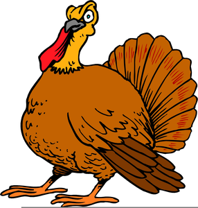 free animated turkey clipart free images at clker com vector rh clker com funny animated thanksgiving clipart