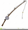 Fishing Poles Clipart Image