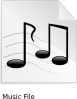 Music Audio Clip Art