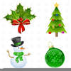 Free Bauble Clipart Image