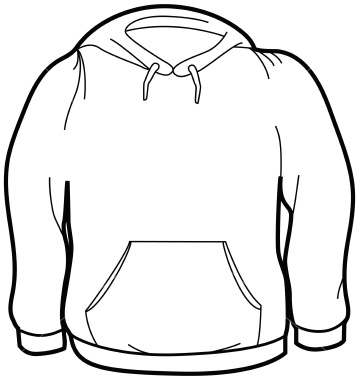 Ist Adult Size Sweatshirt | Free Images at Clker.com - vector clip art