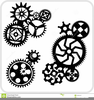 Free Clipart Gears Image