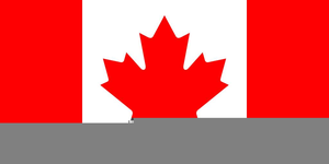 Clipart Canadian Flag Image
