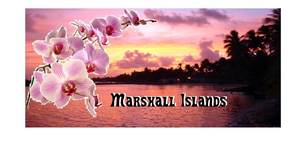 Sunset In The Marshall Islands Image