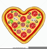 Pizza And Ice Cream Clipart Image