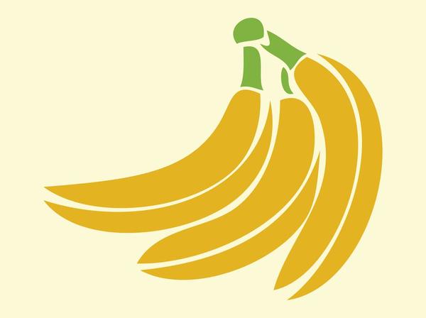 Peeled Banana Cartoon Vector Clipart - FriendlyStock