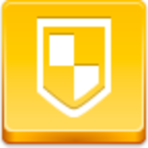 Free Yellow Button Antivirus Image