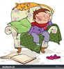 Baby Boy Sitting Clipart Image