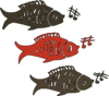 Singing Fish Clip Art