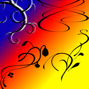 Gradient And Swirls Image
