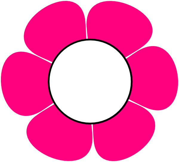 1 Pink Flower Clip Art At Vector Clip Art Online Royalty Free Public Domain
