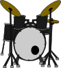 Marcelomotta Drums Clip Art