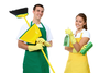 Man And Woman Cleaning Image