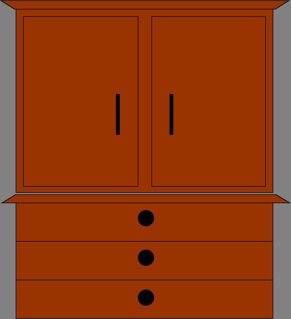 kitchen cupboards clip art