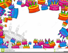 Th Birthday Clipart Borders Image