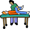 Physical Therapist Clipart Image