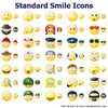 Standard Smile Icons Image