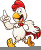 Animated Dancing Chicken Clipart Image