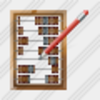 Icon Abacus Edit Image