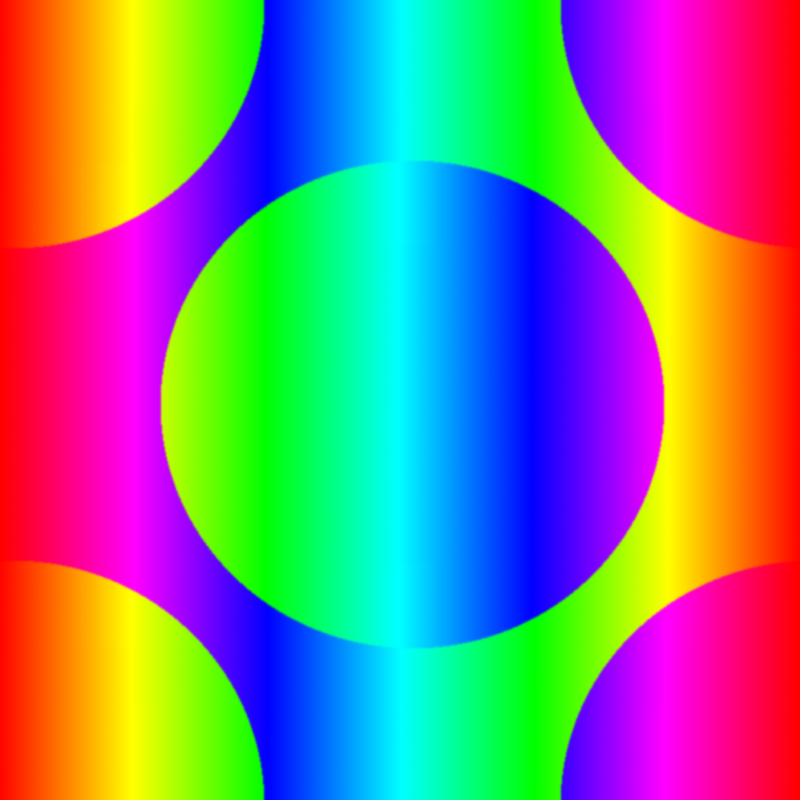 Rainbow Wallpaper Tile Image
