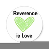 I Can Be Reverent Clipart Image