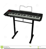 Free Keyboard Player Clipart Image