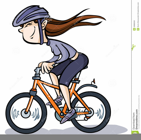 Clipart Velo Fille Free Images At Clker Com Vector Clip Art