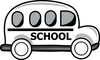 Cartoon School Bus Drawing Smu Image