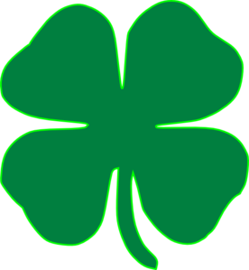 Shamrock Dark Green Clip Art at Clker.com - vector clip ...