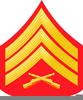 Army Master Sergeant Clipart Image