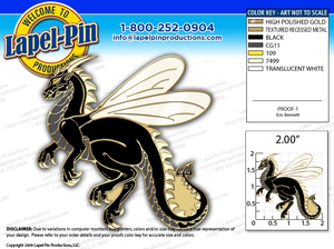 Dragon Pin Image